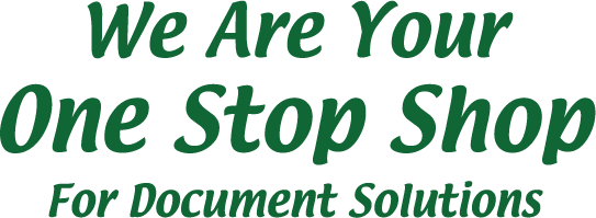 Westside Instaprint Text Slogan One Stop Shop for document Solutions
